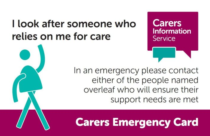 carers emergency card image