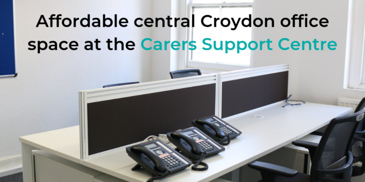 Affordable office hire in central Croydon at the Carers Support Centre